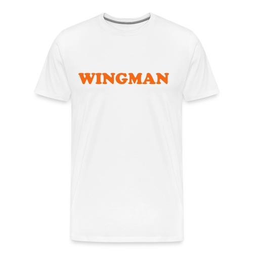 POD (M) WINGMAN - Men's Premium T-Shirt