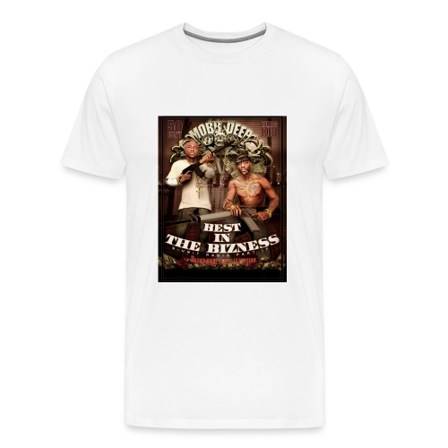 MOBB DEEP-WHITE-XXXL - Men's Premium T-Shirt