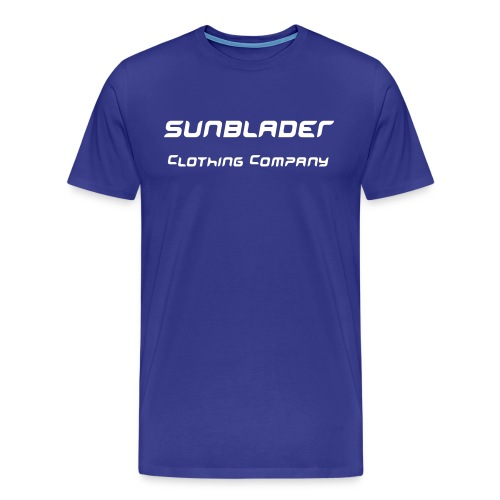 Royal Blue Sunblader Heavyweight T - Men's Premium T-Shirt