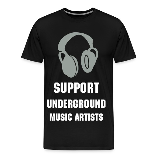 Underground Music - Men's Premium T-Shirt