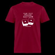 T-Shirts ~ Men's T-Shirt ~ Suction Burgundy