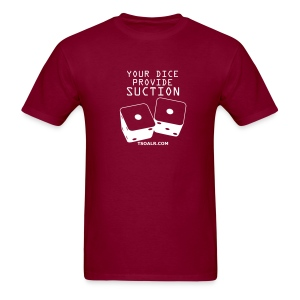 Suction Burgundy - Men's T-Shirt