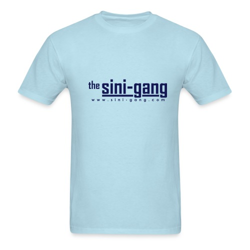 Sky Blue Heavyweight Tee - Men's T-Shirt