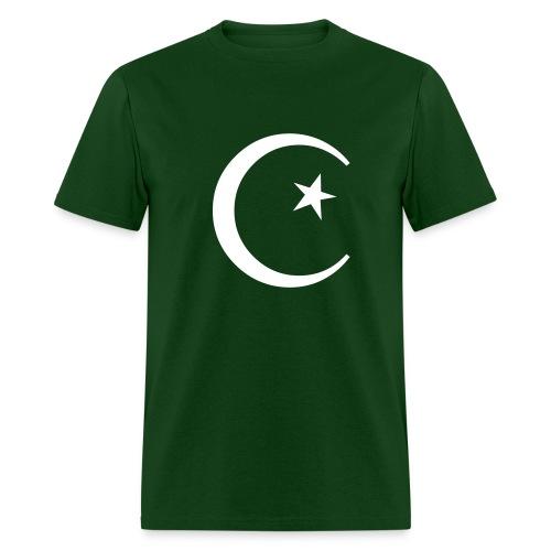 Cresent Forest Green - Men's T-Shirt