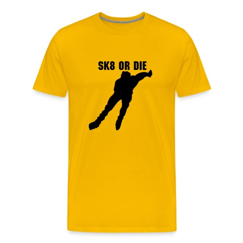 sk8 or die - Men's Premium T-Shirt