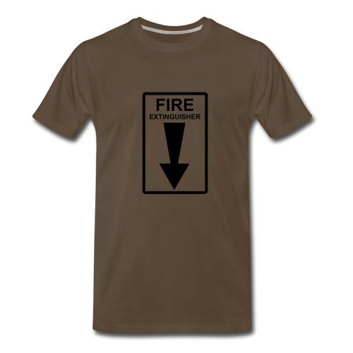 Fire Estinguisher - Men's Premium T-Shirt