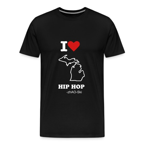 I luv Mi. hip hop tee - Men's Premium T-Shirt