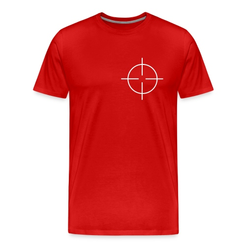 Crosshair on the heart - Men's Premium T-Shirt