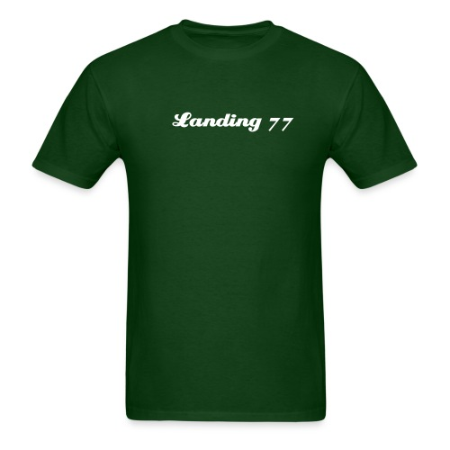 landing 77 mens t - Men's T-Shirt