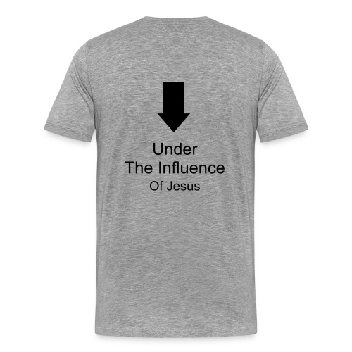 Men's Under the Influence T-shirt - Men's Premium T-Shirt