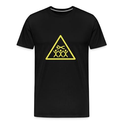 Crowd Surf Black - Men's Premium T-Shirt