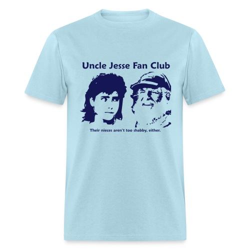 Uncle Jesse - Blue - Men's T-Shirt