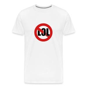 LOL White - Men's Premium T-Shirt