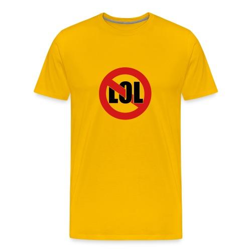 LOL Yellow - Men's Premium T-Shirt