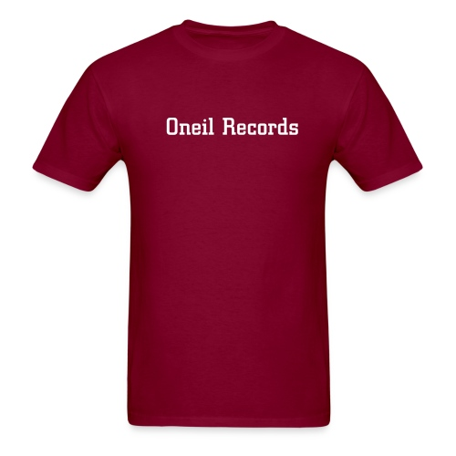 Oneil Records Red T-shirt - Men's T-Shirt