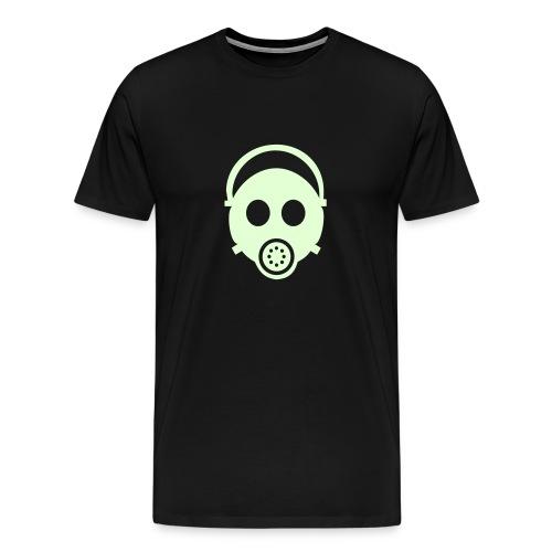 Glow Gasmask - Men's Premium T-Shirt