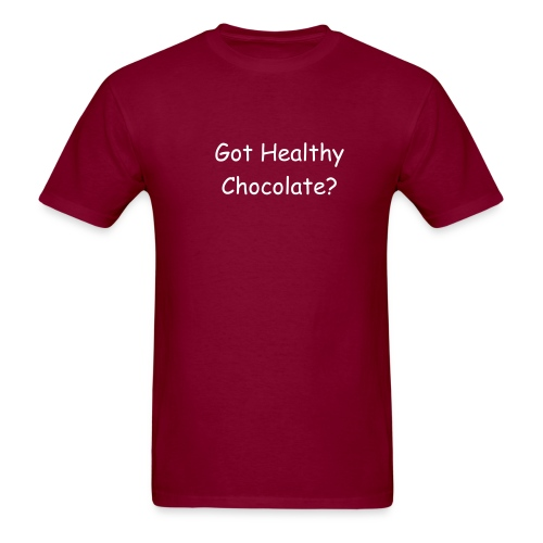 Got Healthy Chocolate? [GHCHOC-03] - Men's T-Shirt