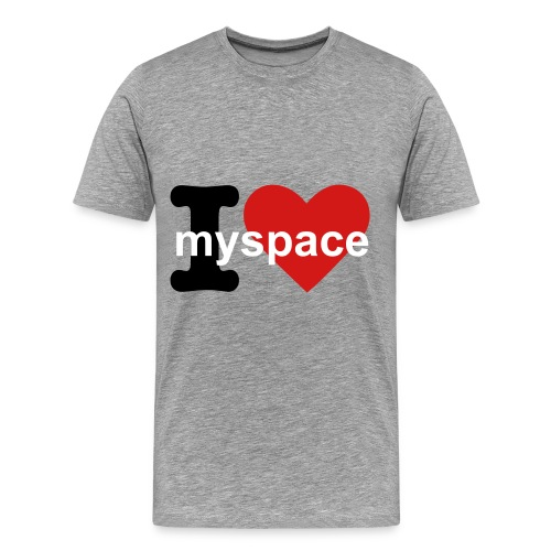 Myspace Addict Tee - Men's Premium T-Shirt