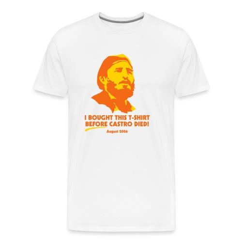 Before Castro Died - Men's Premium T-Shirt