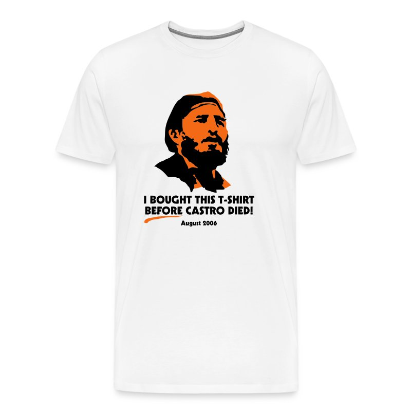 Before Castro Died - Men's Premium T-Shirt