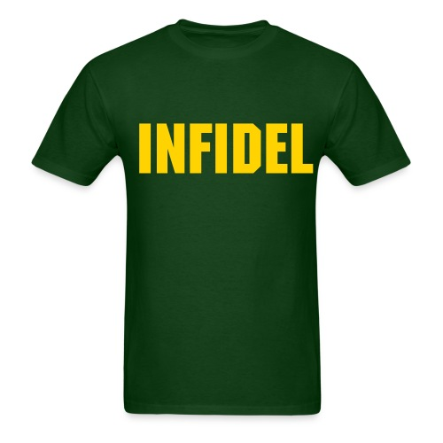 Infidel (Forest Green) - Men's T-Shirt