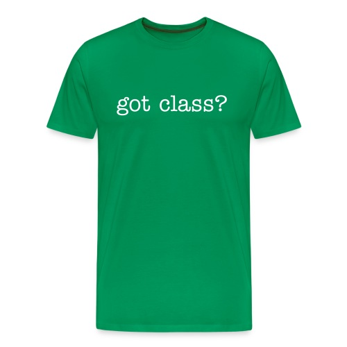 got class? - Men's Premium T-Shirt