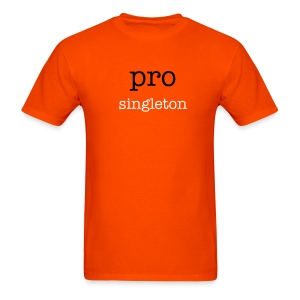 pro singleton - Men's T-Shirt