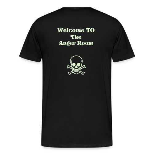 welcome to the anger room - Men's Premium T-Shirt