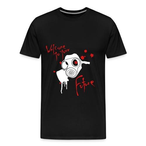 Welcome To Your Future XXXL T's - Men's Premium T-Shirt
