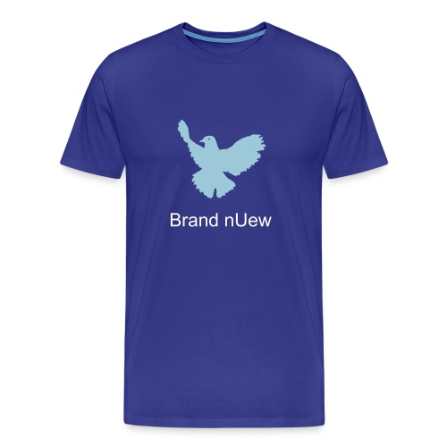 Mens:  Brand nUew Blue Dove - Men's Premium T-Shirt