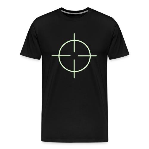 Black Crosshairs Tee - Men's Premium T-Shirt