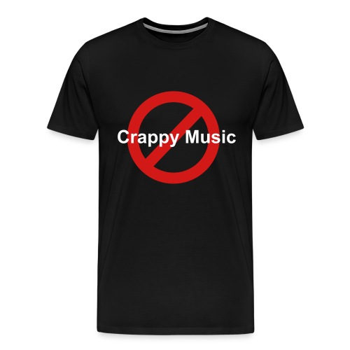 No Crappy Music - Men's Premium T-Shirt
