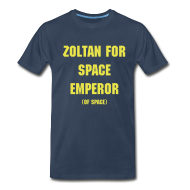 T-Shirts ~ Men's Premium T-Shirt ~ Zoltan - Space Emperor