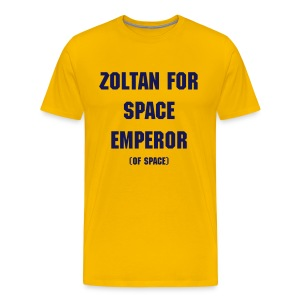 Zoltan - Space Emperor - Men's Premium T-Shirt