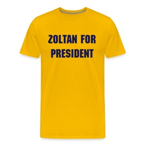 Zoltan - President Maize - Men's Premium T-Shirt
