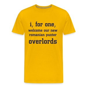 Overlords - Maize - Men's Premium T-Shirt