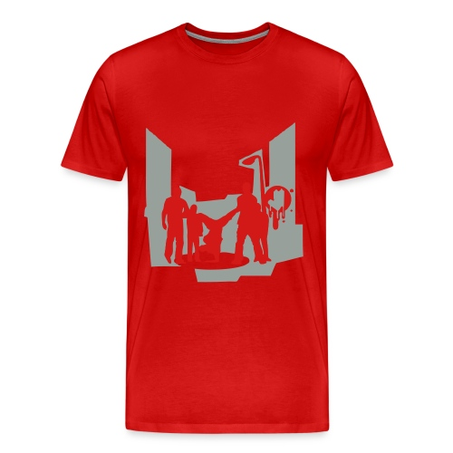 On Tha Block Tee - Men's Premium T-Shirt