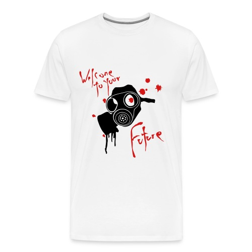 Welcome to your future... - Men's Premium T-Shirt