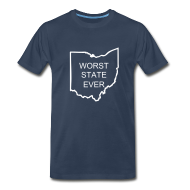 T-Shirts ~ Men's Premium T-Shirt ~ Worst State Ever - PSU