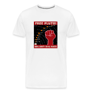 T-Shirts ~ Men's Premium T-Shirt ~ Free Pluto!