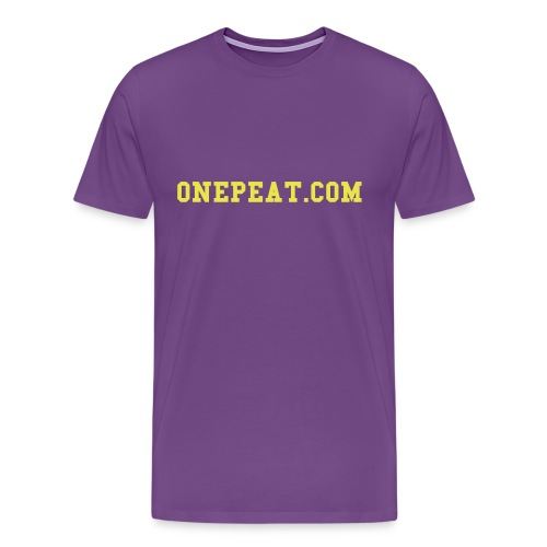 onepeat.com shirt - Men's Premium T-Shirt