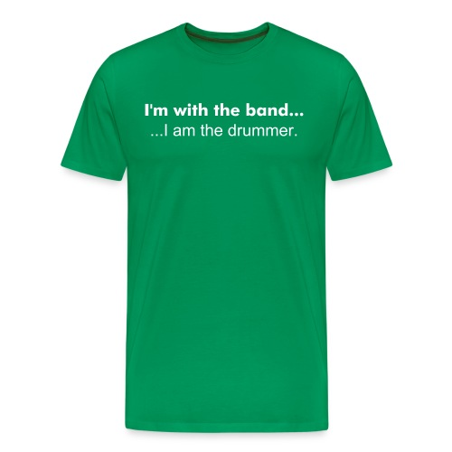 Band, Drummer - Men's Premium T-Shirt