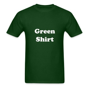 Green Shirt - Men's T-Shirt
