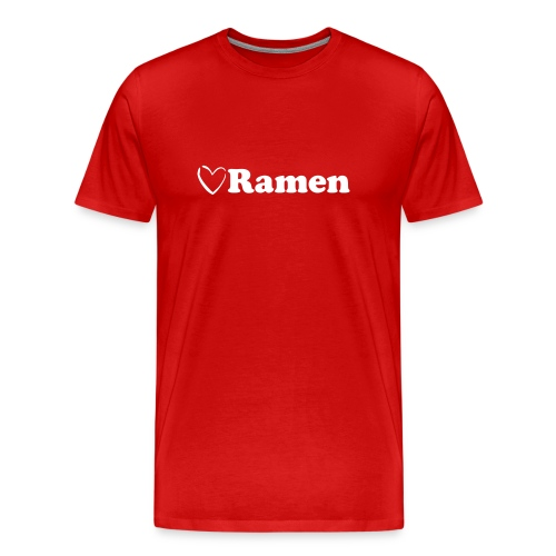 Heart Ramen - Men's Premium T-Shirt