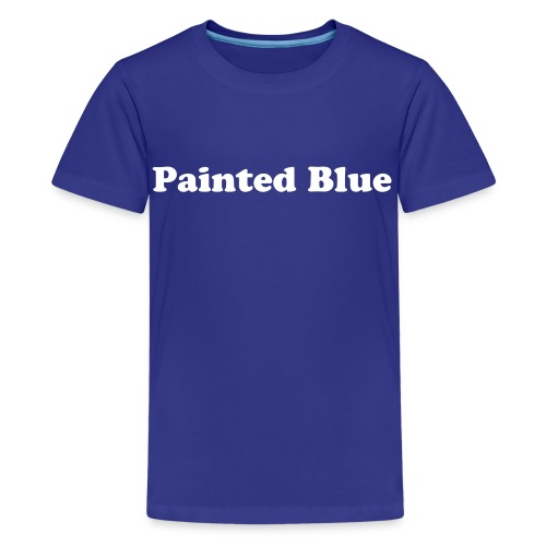PAINTED BLUE KIDS - Kids' Premium T-Shirt