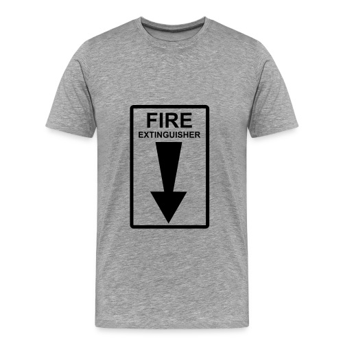 FIRE extinguisher tee - Men's Premium T-Shirt