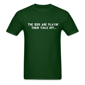 Playin' Their Tails Off - Men's T-Shirt