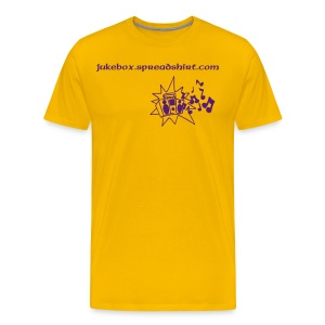 JUKEBOX/PROMOTION T-SHIRT - Men's Premium T-Shirt