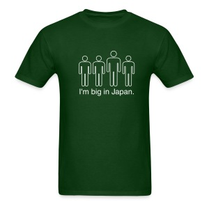 I'm Big in Japan - green - Men's T-Shirt