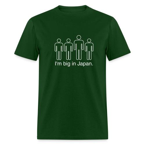 I'm Big in Japan - green - Men's T-Shirt
